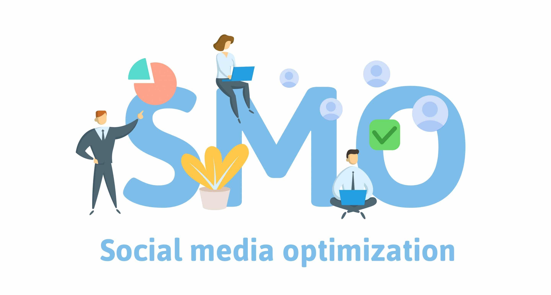 Illustration représentant le SMO : Social Media Optimization